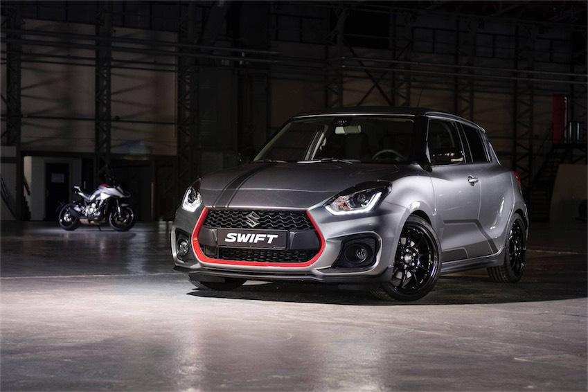 Suzuki Swift Sport Katana phiên bản giới hạn cho thị trường Hà Lan - 9