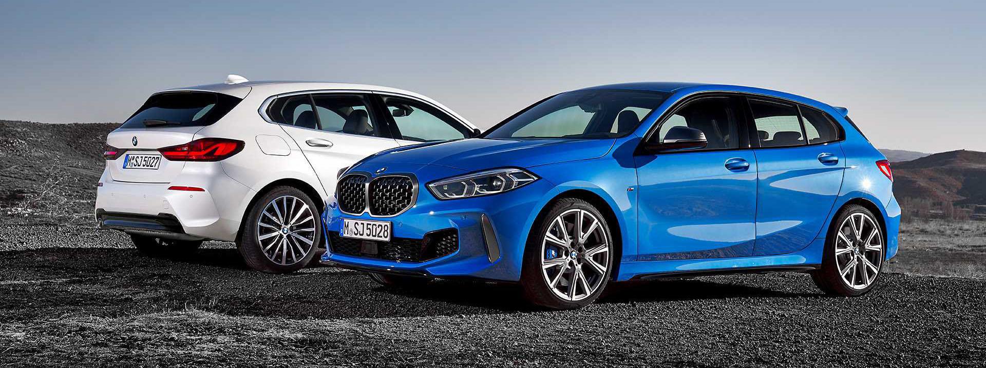 BMW 1 Series thế hệ mới, chiếc hatchback cỡ nhỏ chất không kém đàn anh X2 1
