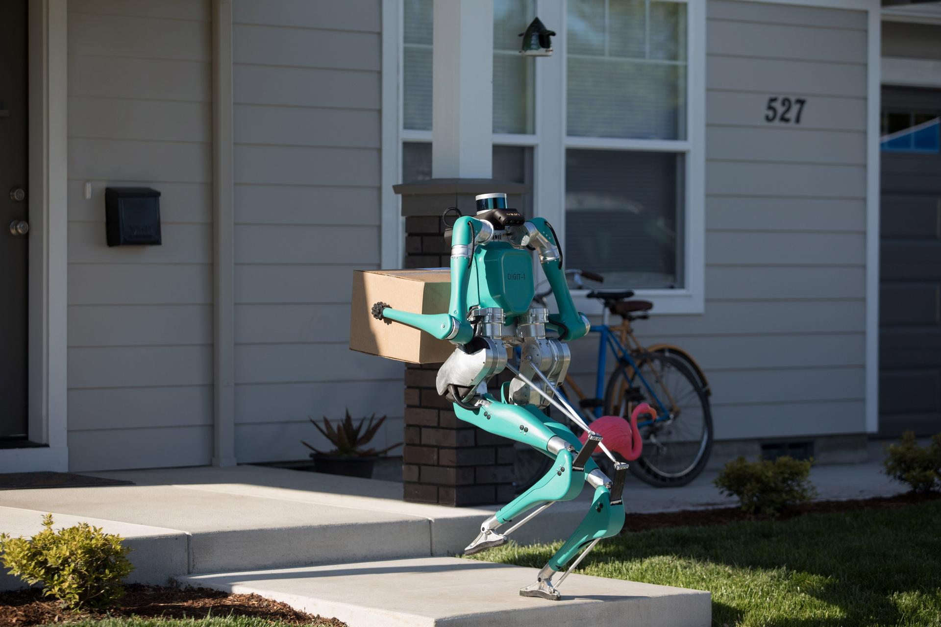 Ford phát triển Digit robot giao hàng tự động đến tận cửa - 10