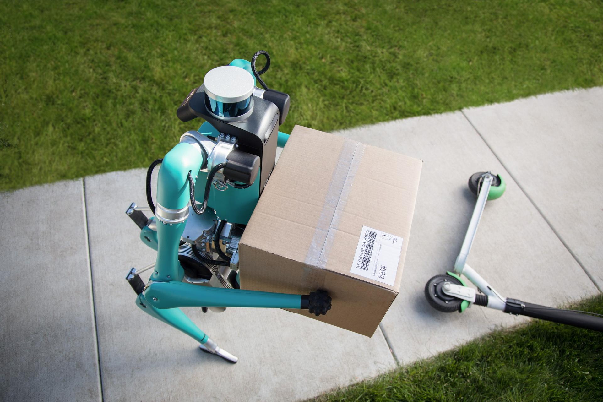 Ford phát triển Digit robot giao hàng tự động đến tận cửa - 4