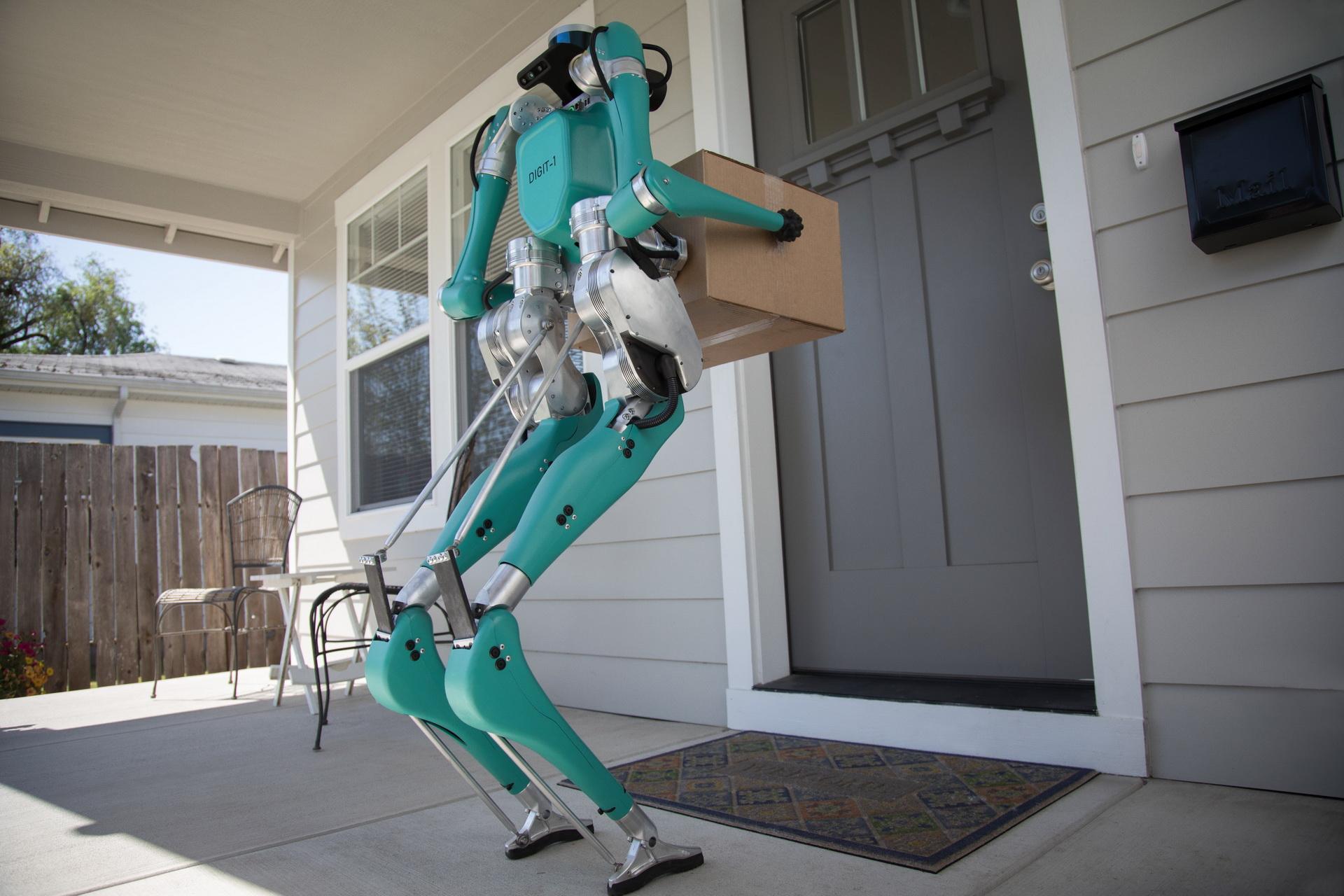 Ford phát triển Digit robot giao hàng tự động đến tận cửa - 5