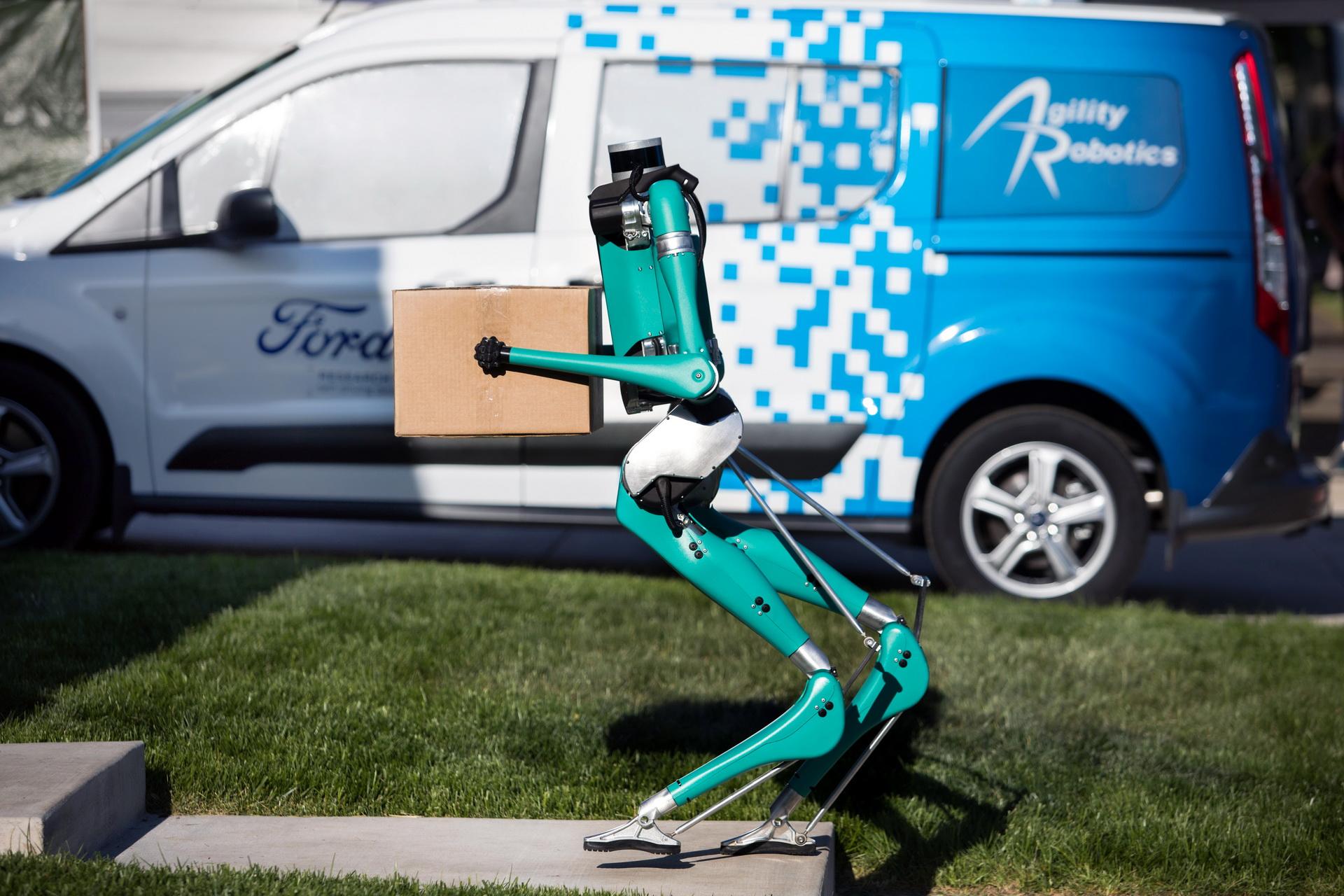 Ford phát triển Digit robot giao hàng tự động đến tận cửa - 6