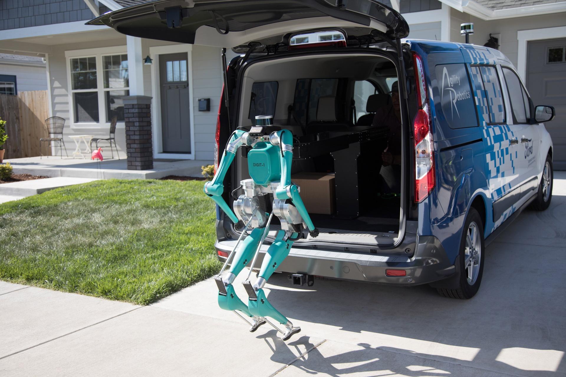 Ford phát triển Digit robot giao hàng tự động đến tận cửa - 9