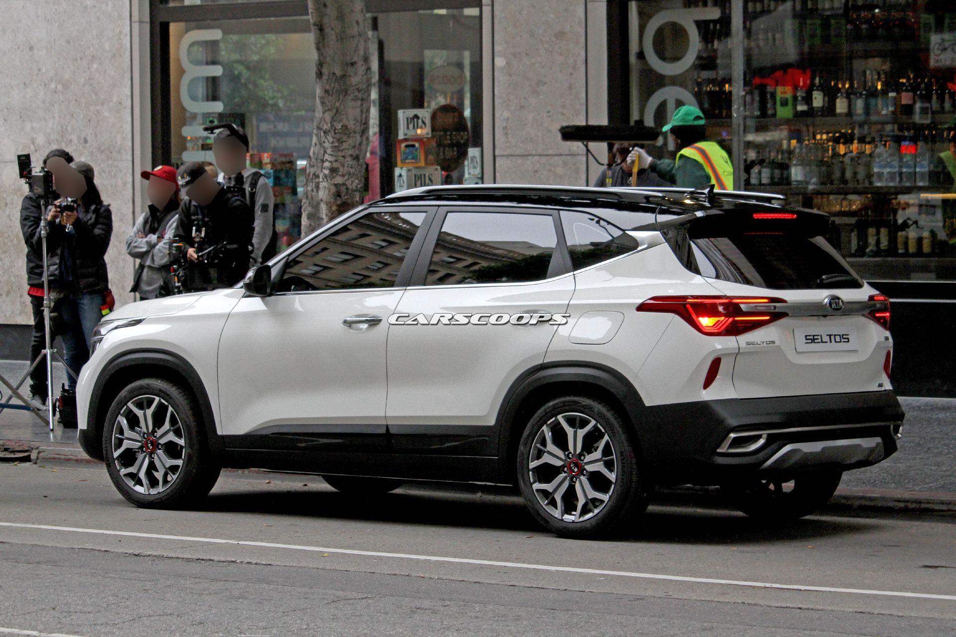 Lộ diện SUV mới của Kia cạnh tranh với Hyundai Kona - 04