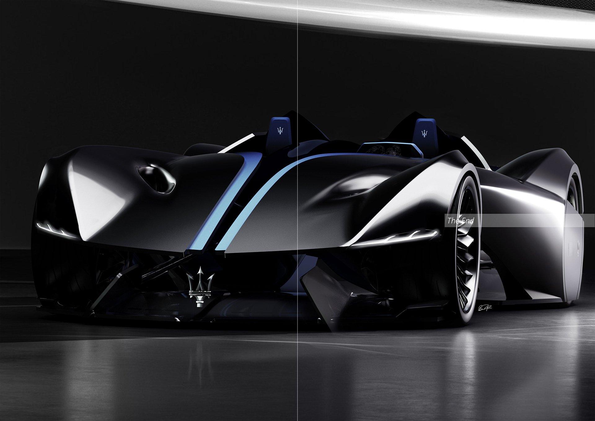 Maserati siêu xe điện tự lái Diatto trong tương lai 5