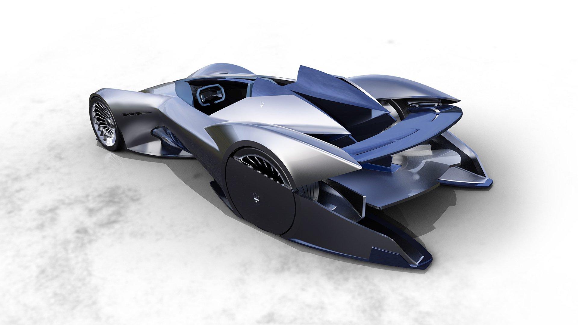 Maserati siêu xe điện tự lái Diatto trong tương lai 7