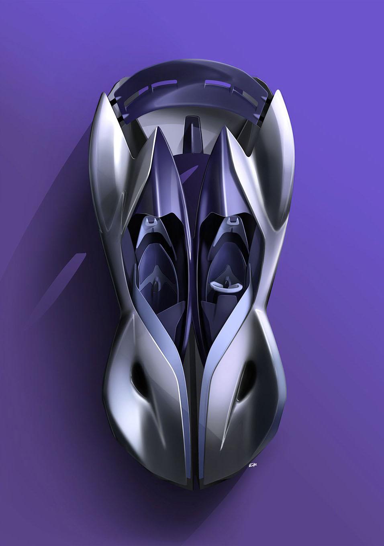 Maserati siêu xe điện tự lái Diatto trong tương lai 9