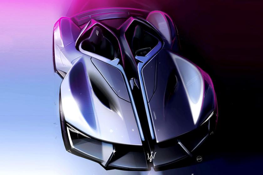 Maserati siêu xe điện tự lái Diatto trong tương lai 1