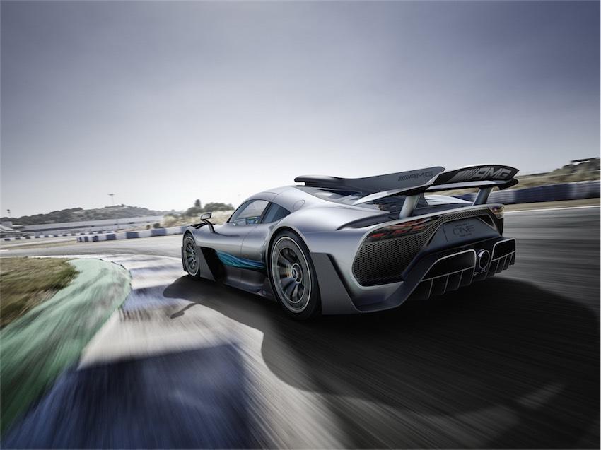 Mercedes-AMG Project One tương lai sẽ sử dụng động cơ tăng áp điện - 2