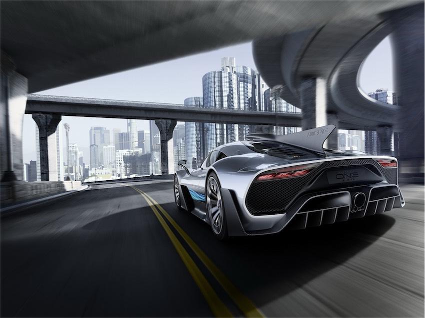 Mercedes-AMG Project One tương lai sẽ sử dụng động cơ tăng áp điện - 3