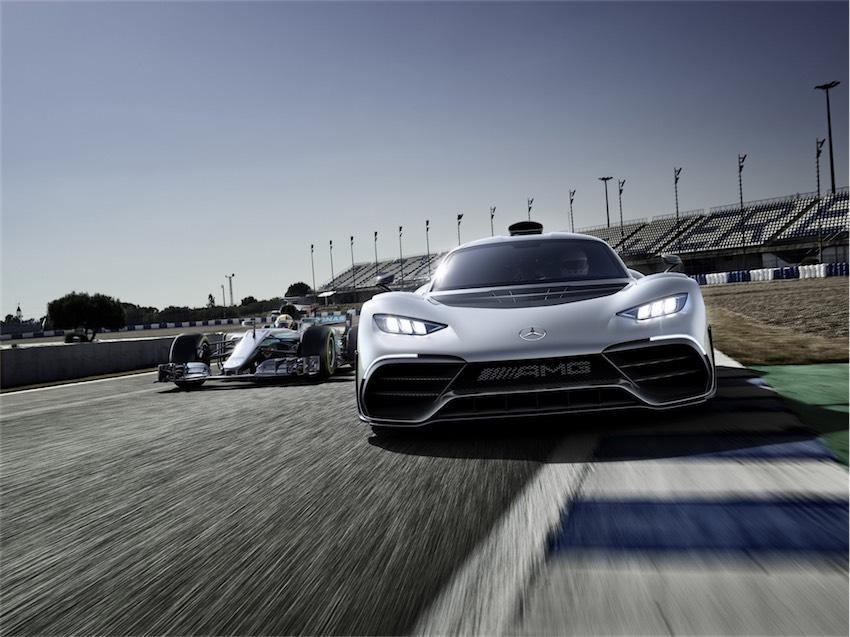 Mercedes-AMG Project One tương lai sẽ sử dụng động cơ tăng áp điện - 4