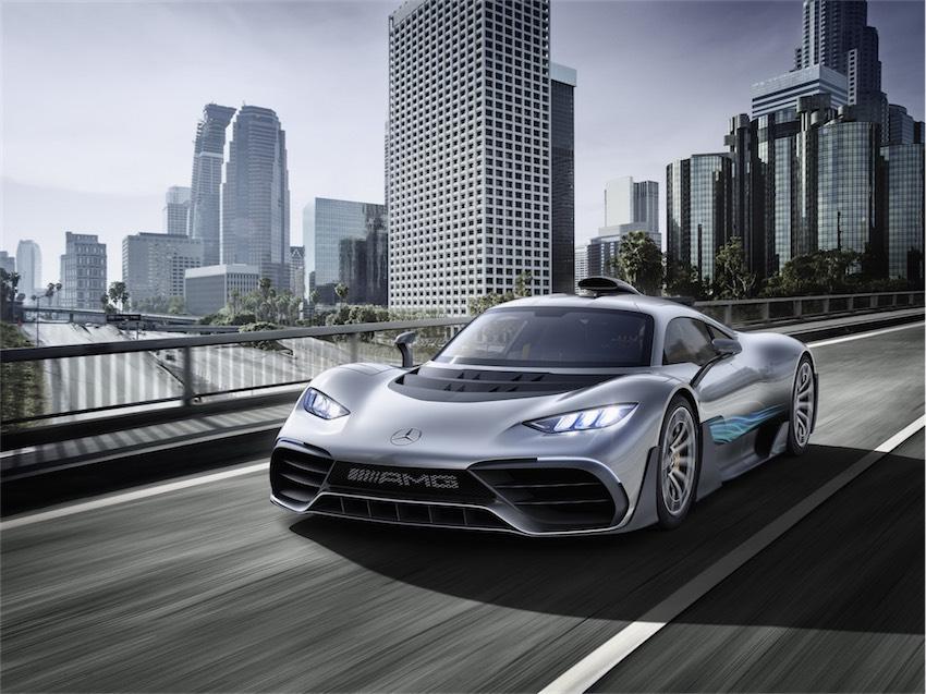 Mercedes-AMG Project One tương lai sẽ sử dụng động cơ tăng áp điện - 8