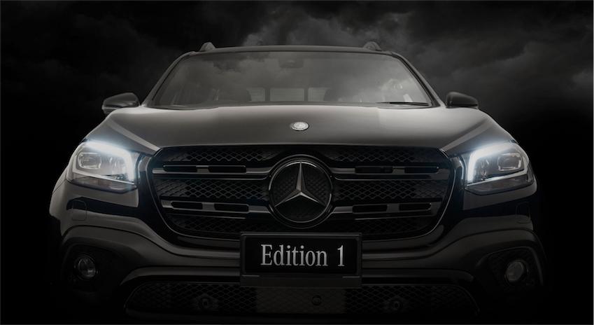 Bán tải hạng sang Mercedes-Benz X-Class Edition 1 bản giới hạn - 2