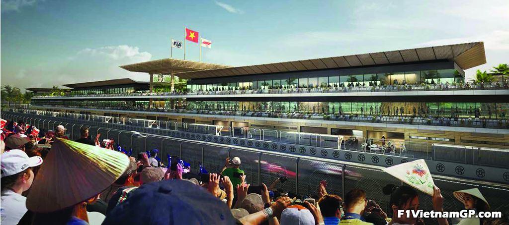 Ngắm phối cảnh 3D trường đua F1 đầu tiên tại Việt Nam - 1
