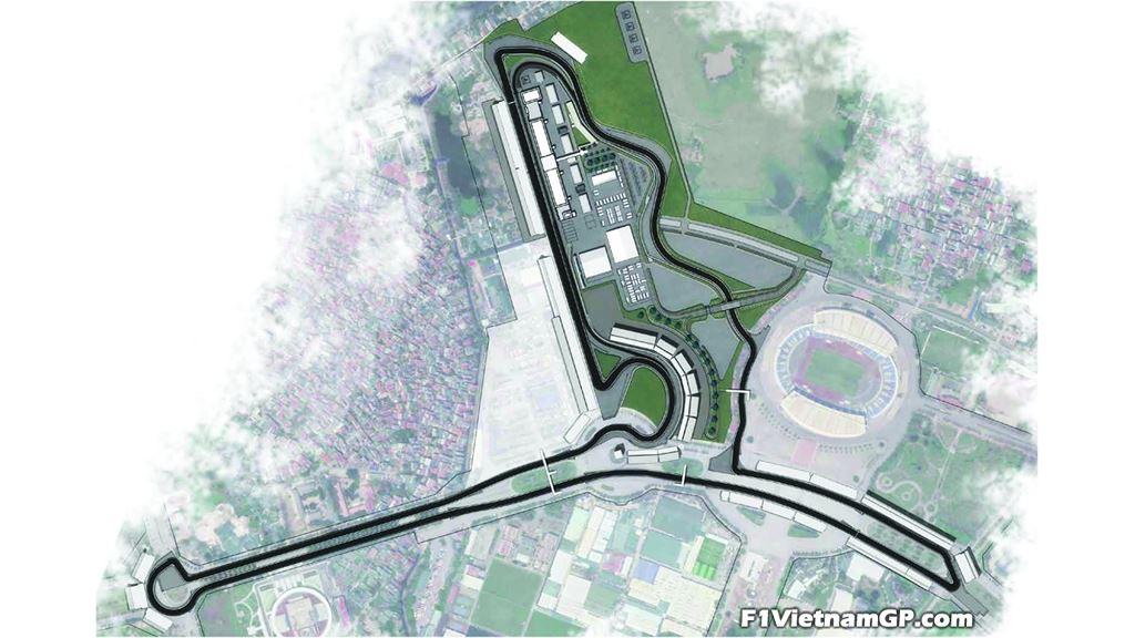 Ngắm phối cảnh 3D trường đua F1 đầu tiên tại Việt Nam - 2