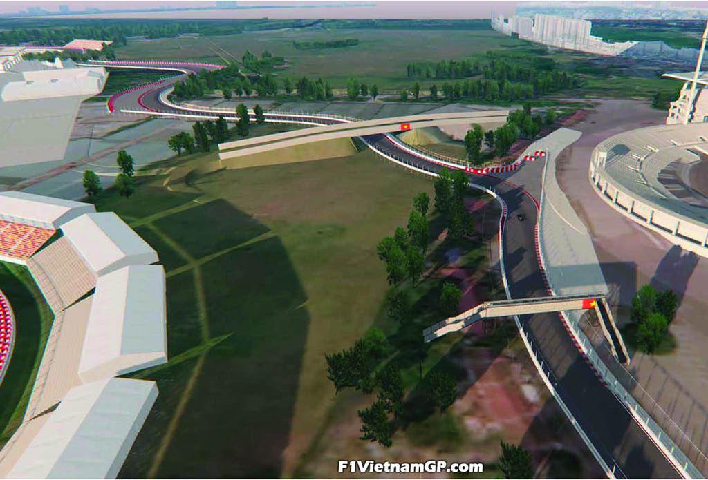 Ngắm phối cảnh 3D trường đua F1 đầu tiên tại Việt Nam - 5