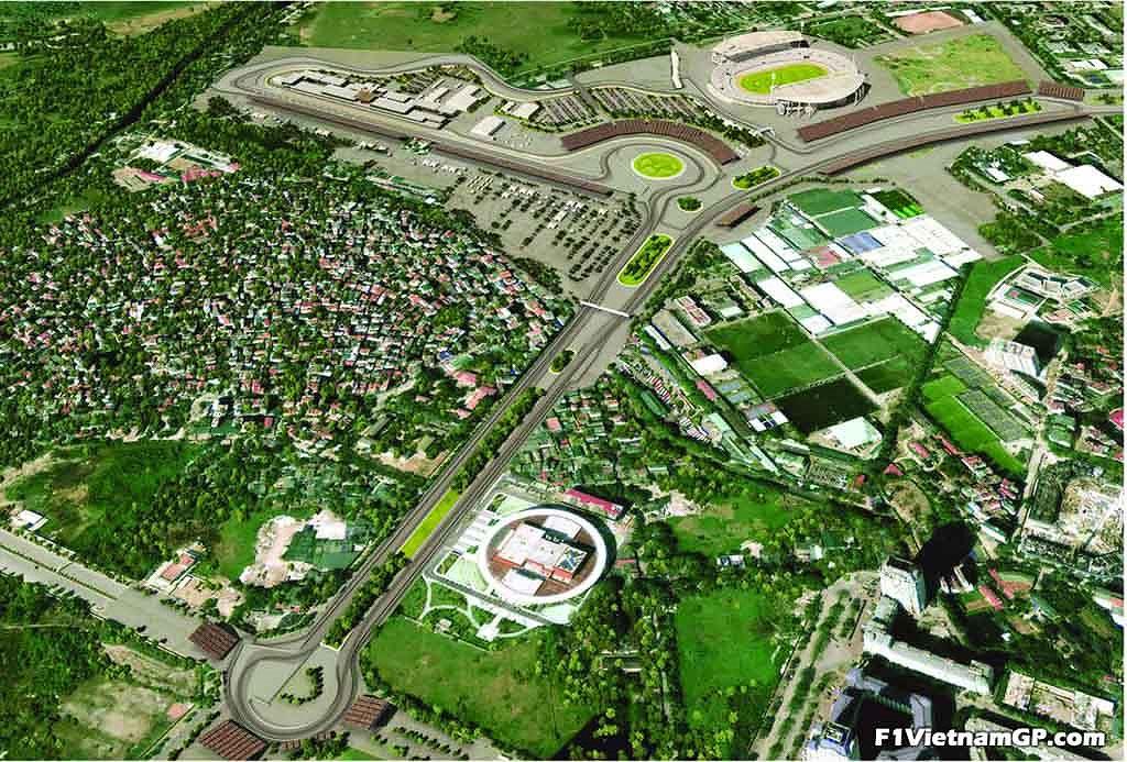 Ngắm phối cảnh 3D trường đua F1 đầu tiên tại Việt Nam - 6