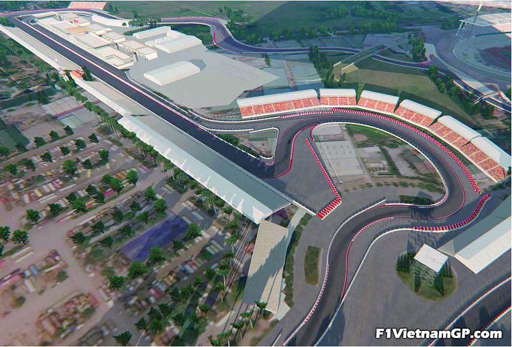 Ngắm phối cảnh 3D trường đua F1 đầu tiên tại Việt Nam - 7