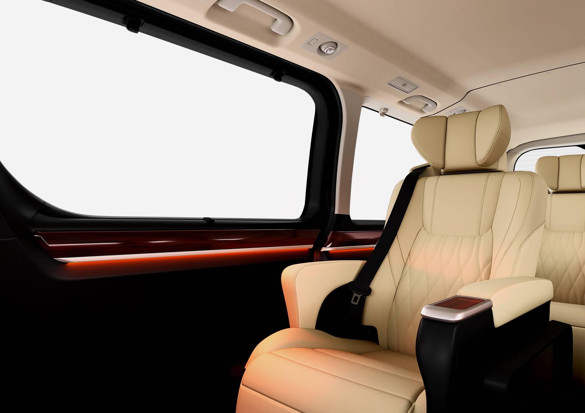 Ra mắt Toyota Granvia 7 chỗ dành cho nhà giàu, dựa trên nền tảng Hiace - 05