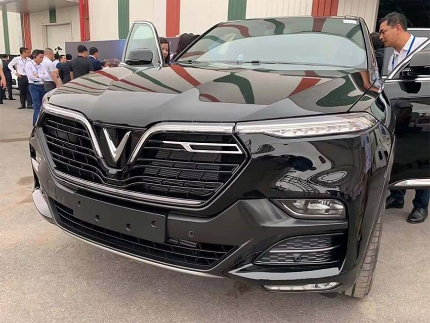Loạt xe ô tô Vinfast bản thương mại xuất hiện ảnh thực tế tại Hải Phòng - 2