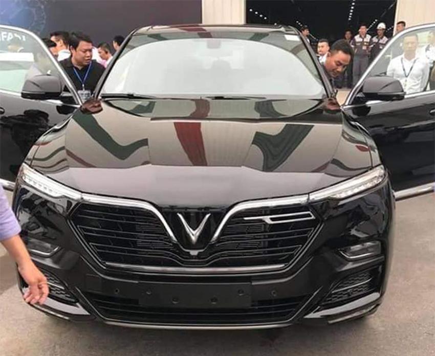 Loạt xe ô tô Vinfast bản thương mại xuất hiện ảnh thực tế tại Hải Phòng - 9