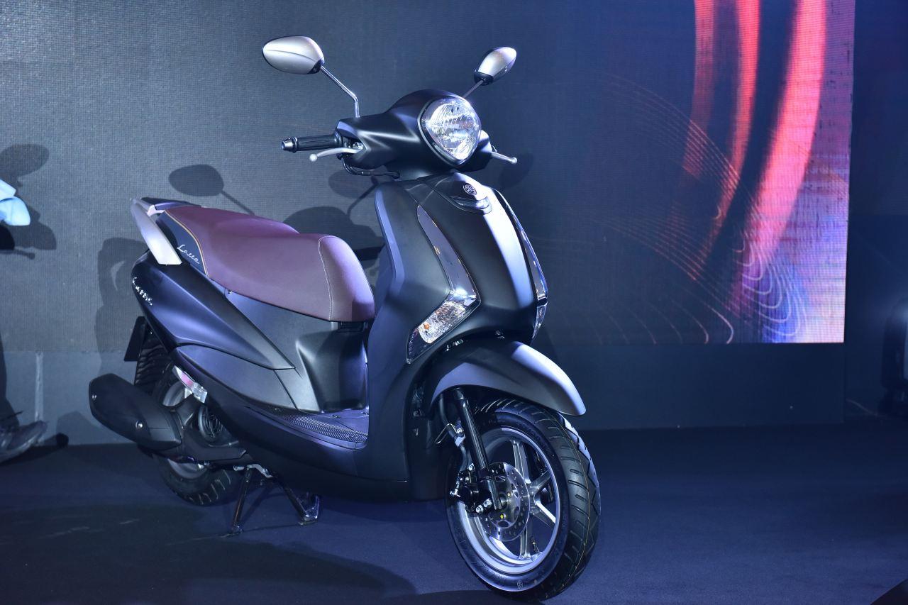 Yamaha ra mắt xe tay ga Latte, động cơ 125cc tiết kiệm xăng, cốp rộng, giá bán 37.9 triệu - 03