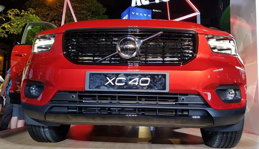 Mẫu xe SUV cỡ nhỏ Volvo XC40 2019 chính thức được ra mắt tại Việt Nam 20
