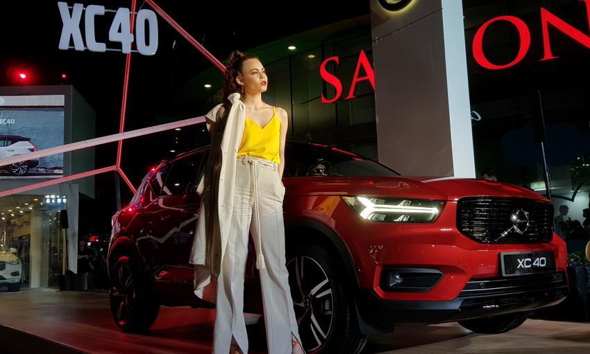 Mẫu xe SUV cỡ nhỏ Volvo XC40 2019 chính thức được ra mắt tại Việt Nam 19