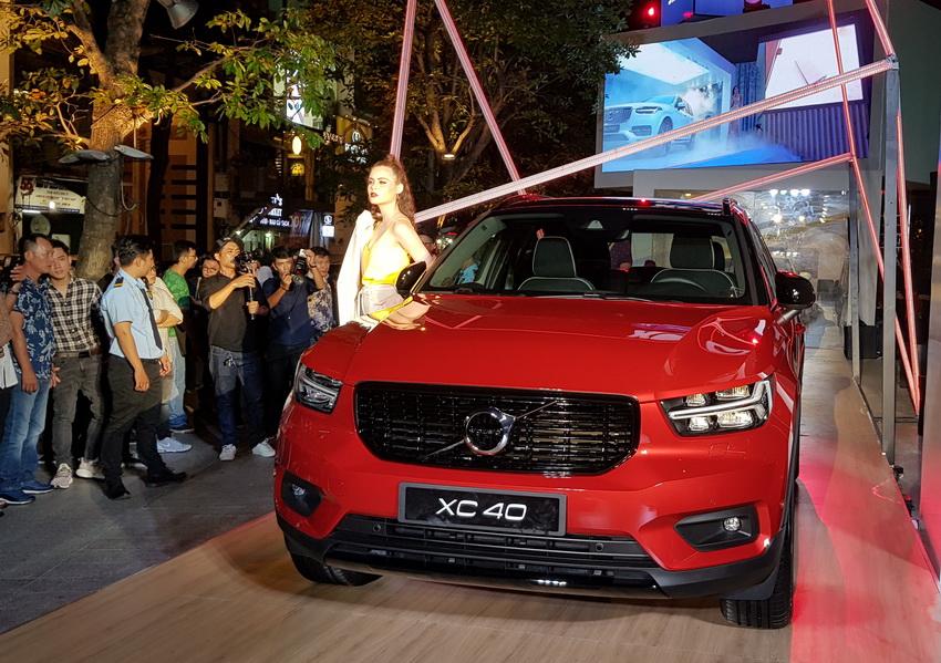 Mẫu xe SUV cỡ nhỏ Volvo XC40 2019 chính thức được ra mắt tại Việt Nam 3