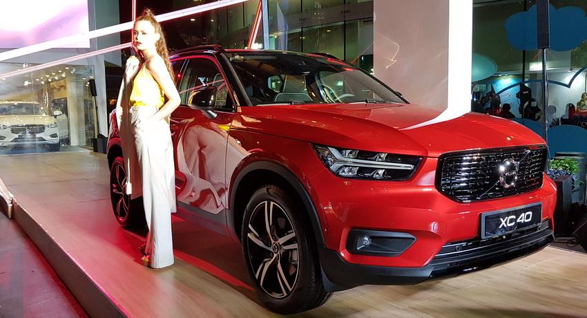Mẫu xe SUV cỡ nhỏ Volvo XC40 2019 chính thức được ra mắt tại Việt Nam 4