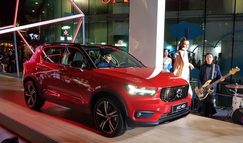 Mẫu xe SUV cỡ nhỏ Volvo XC40 2019 chính thức được ra mắt tại Việt Nam 1
