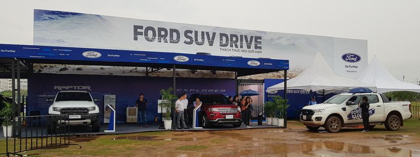 Ford Việt Nam khởi động chuỗi sự kiện lái thử Ford SUV Drive 2019 tại Sài Gòn 2