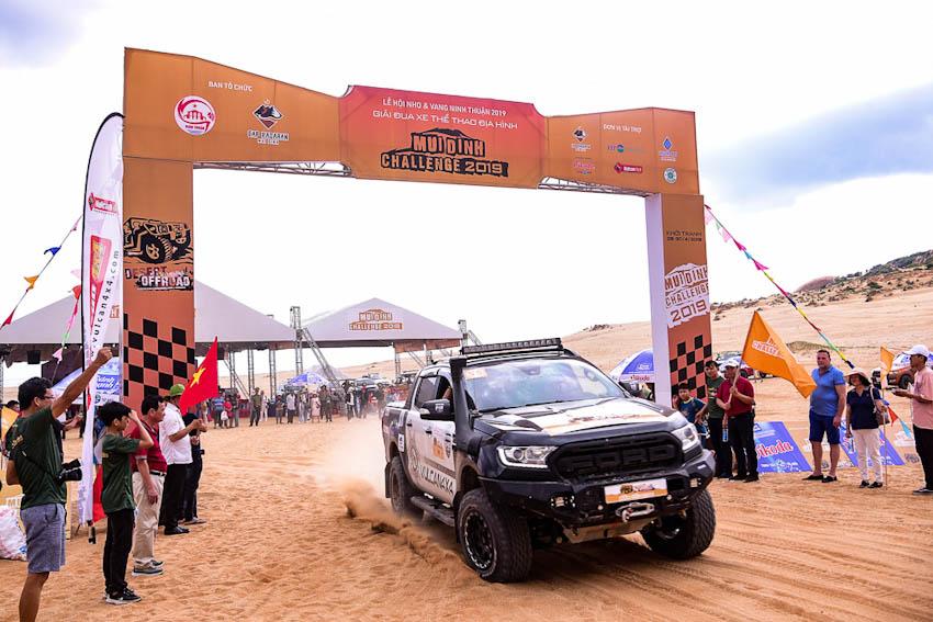 giải đua xe địa hình trên cát Mui Dinh Challenge 2019 1