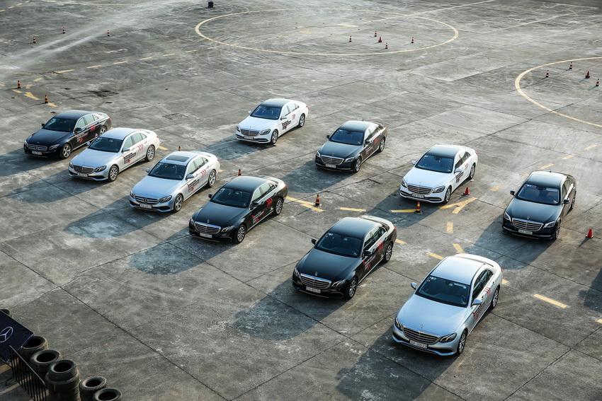 Học viện lái xe an toàn Mercedes-Benz Driving Academy 2019 tại Hà Nội 17