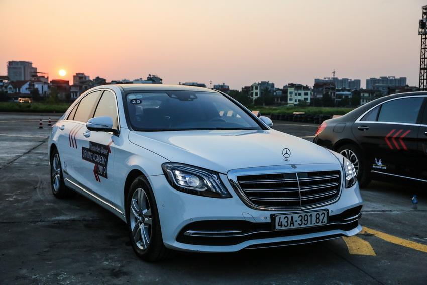 Học viện lái xe an toàn Mercedes-Benz Driving Academy 2019 tại Hà Nội 10