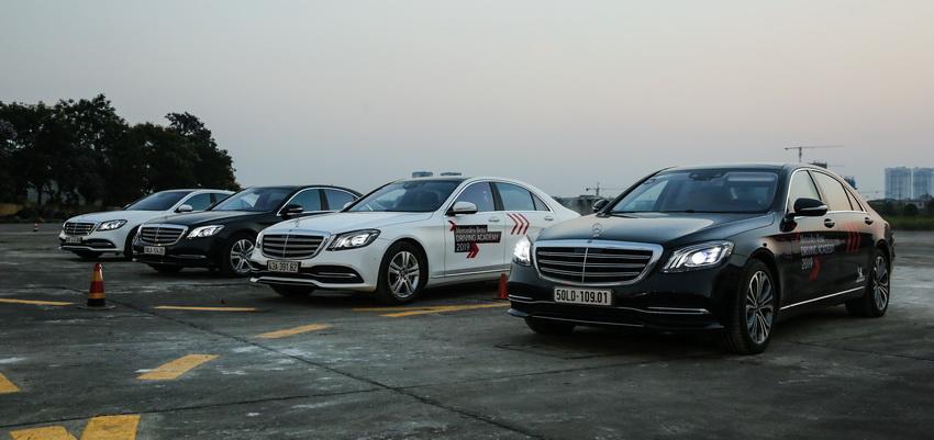 Học viện lái xe an toàn Mercedes-Benz Driving Academy 2019 tại Hà Nội 15