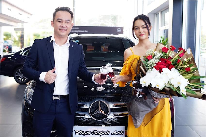 Phạm Quỳnh Anh tậu Mercedes-Benz GLC - 10