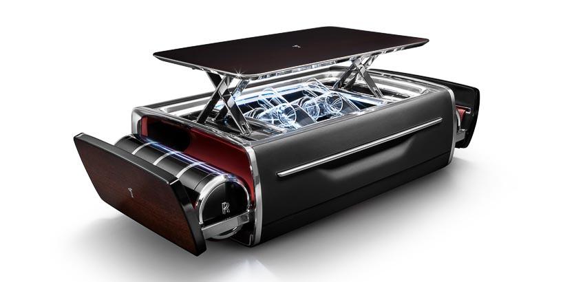 Rolls-Royce ra mắt bộ phụ kiện cao cấp Rương sâm-panh 3
