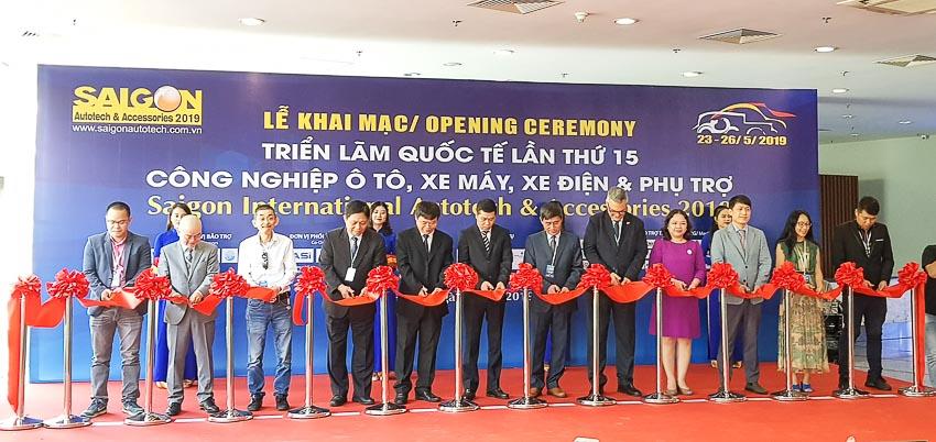 Khai mạc triển lãm Saigon Autotech & Accessories 2019 1