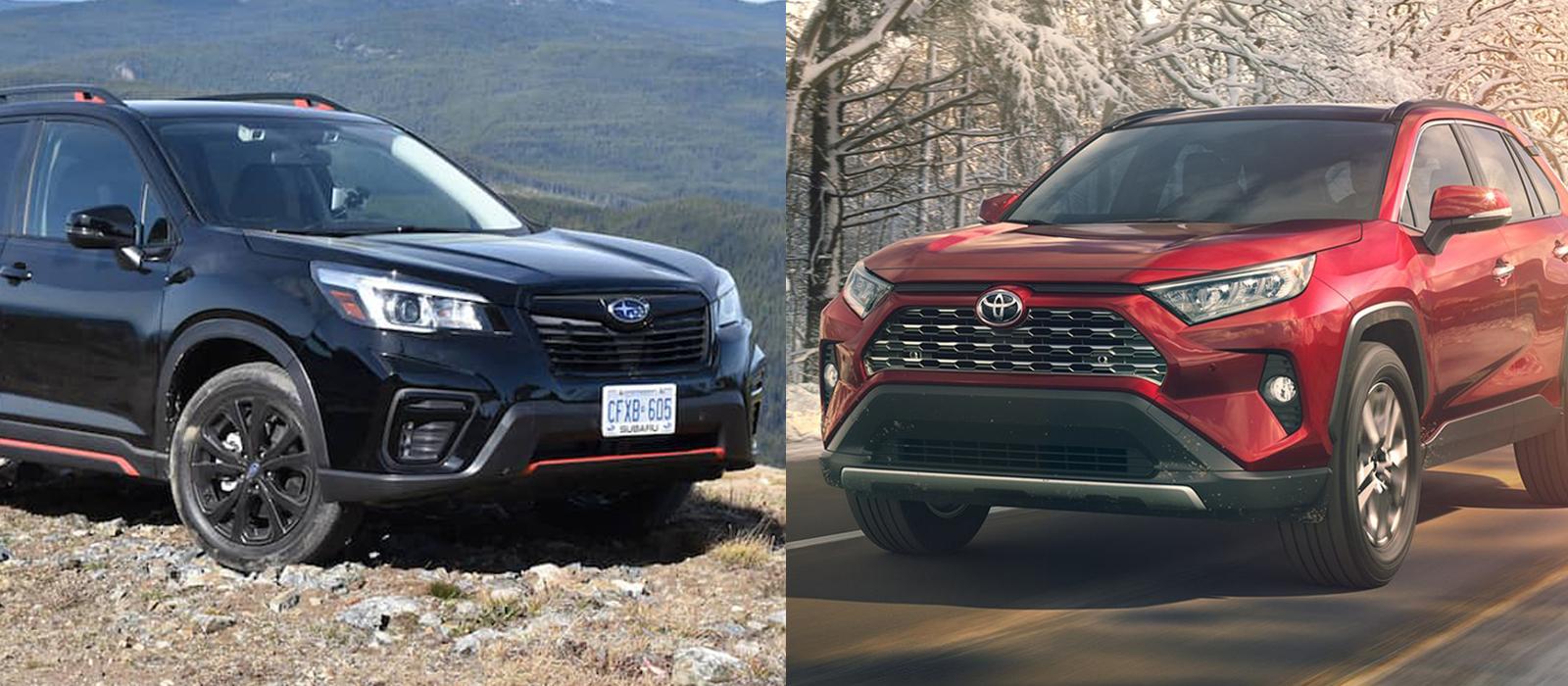 So sánh Toyota RAV4 và Subaru Forester 0