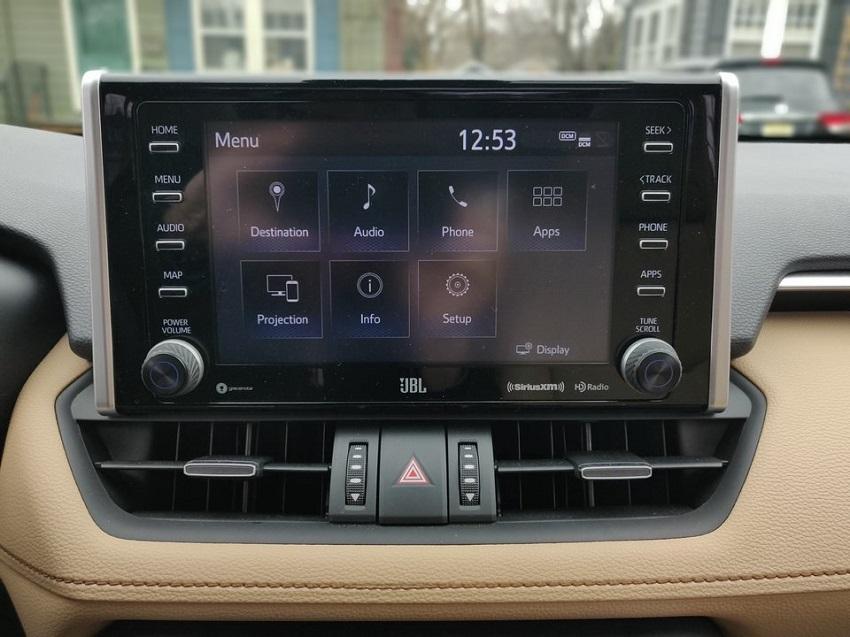 So sánh Toyota RAV4 và Subaru Forester 29