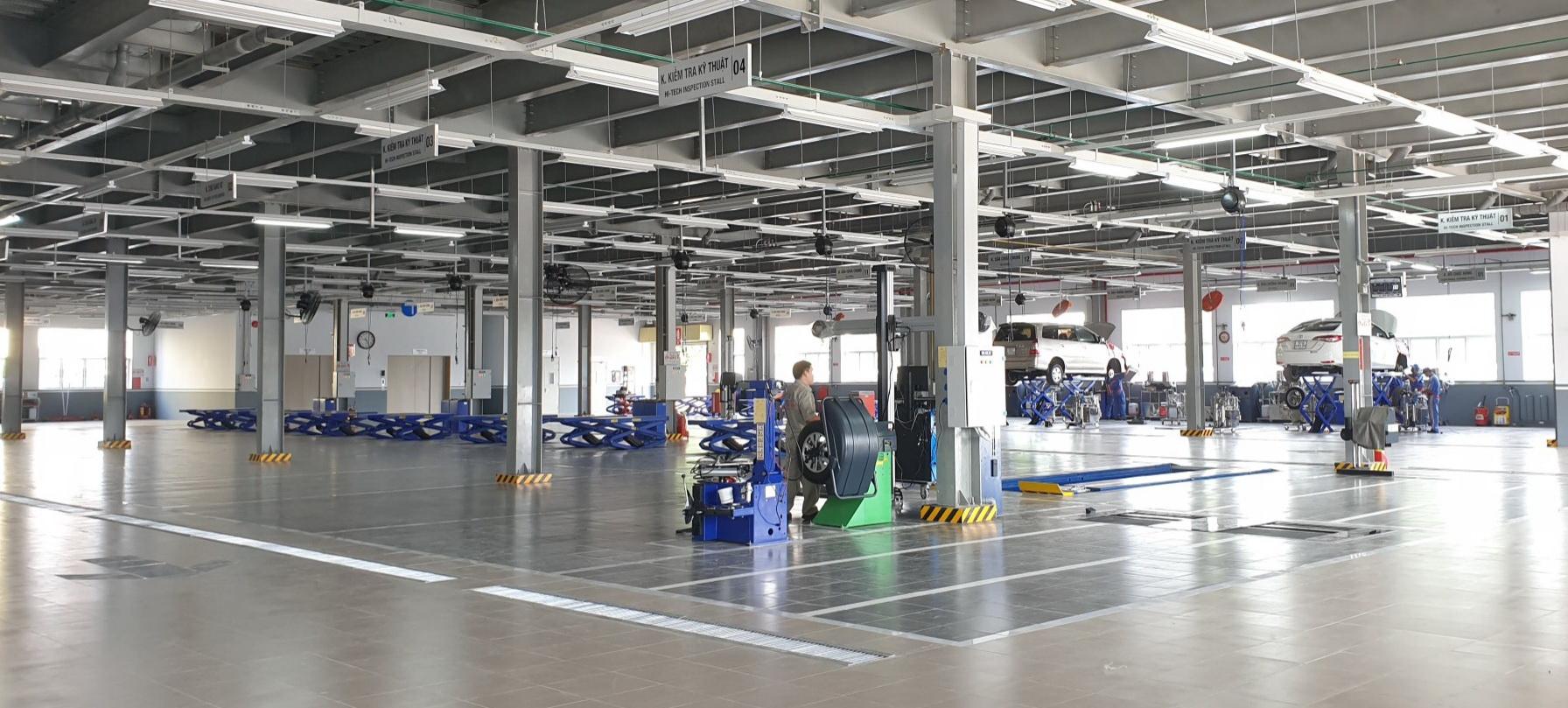 Toyota Việt Nam ra mắt đại lý Toyota Bến Thành – Cơ sở Bình Tân 3
