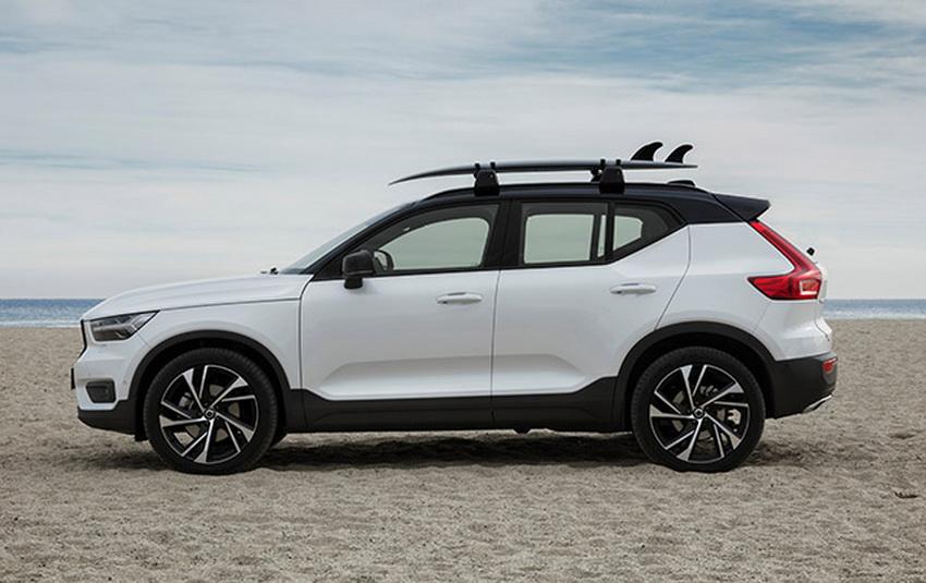 Mẫu xe SUV cỡ nhỏ Volvo XC40 2019 sẽ ra mắt tại Việt Nam vào ngày 31-5 5