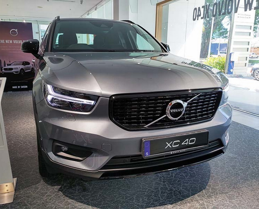 Mẫu xe SUV cỡ nhỏ Volvo XC40 2019 sẽ ra mắt tại Việt Nam vào ngày 31-5 3