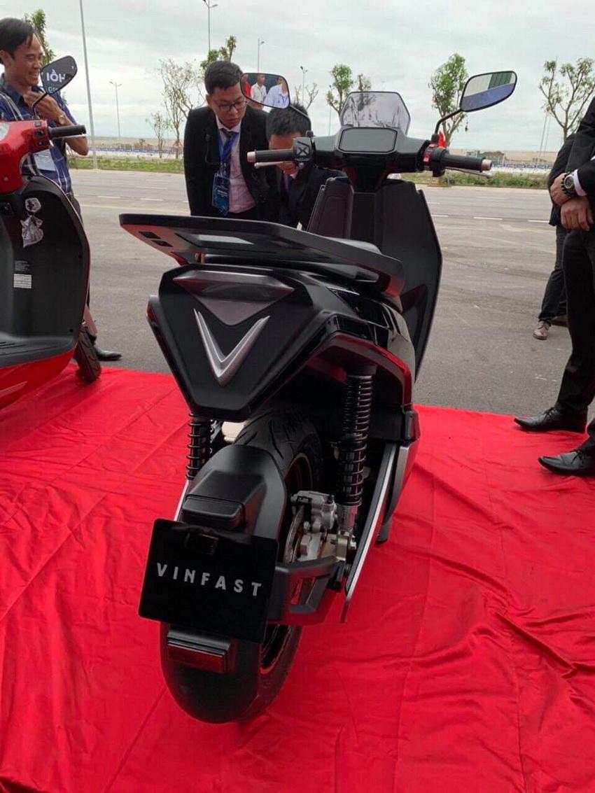 Lộ diện hình ảnh mẫu xe máy điện mới của VinFast 2