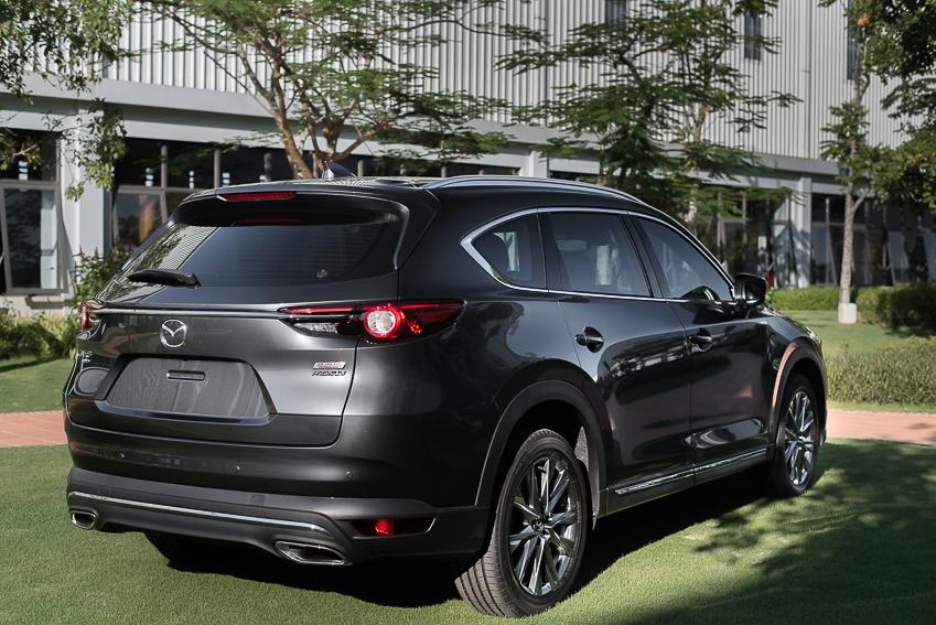Mazda CX-8 mới ra mắt với 3 phiên bản - 16