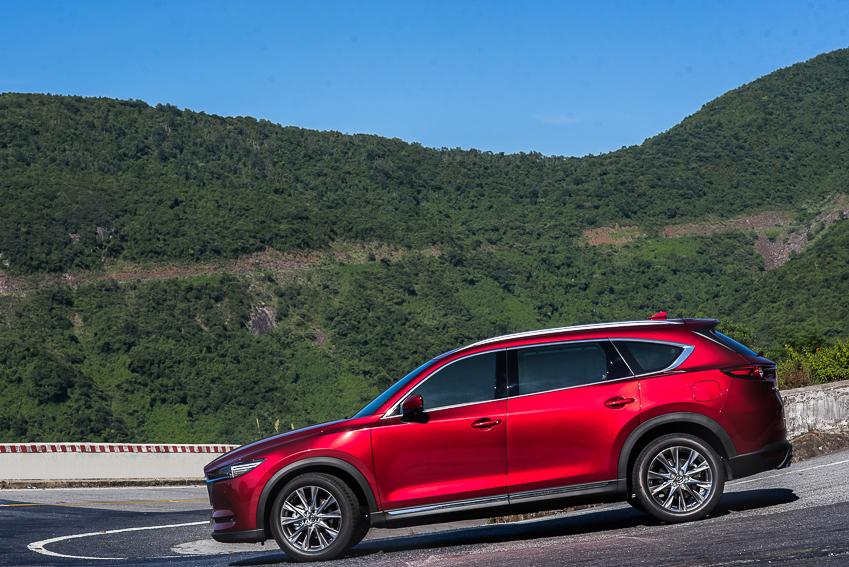 Mazda CX-8 mới ra mắt với 3 phiên bản - 25