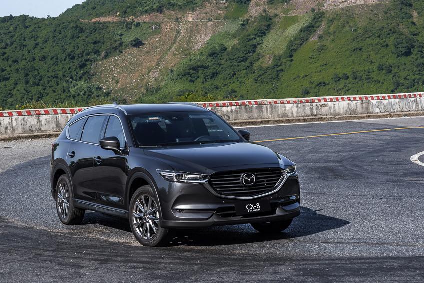 Mazda CX-8 mới ra mắt với 3 phiên bản - 27
