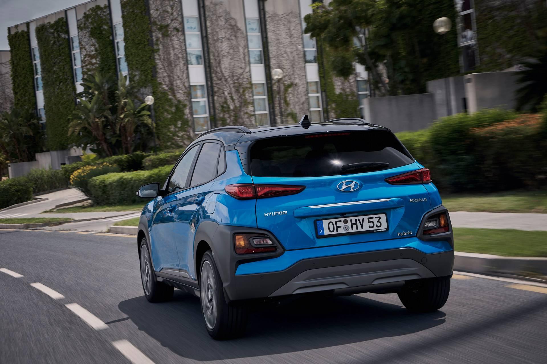 Hyundai lộ diện Kona phiên bản Hybrid tại thị trường Châu Âu - 02