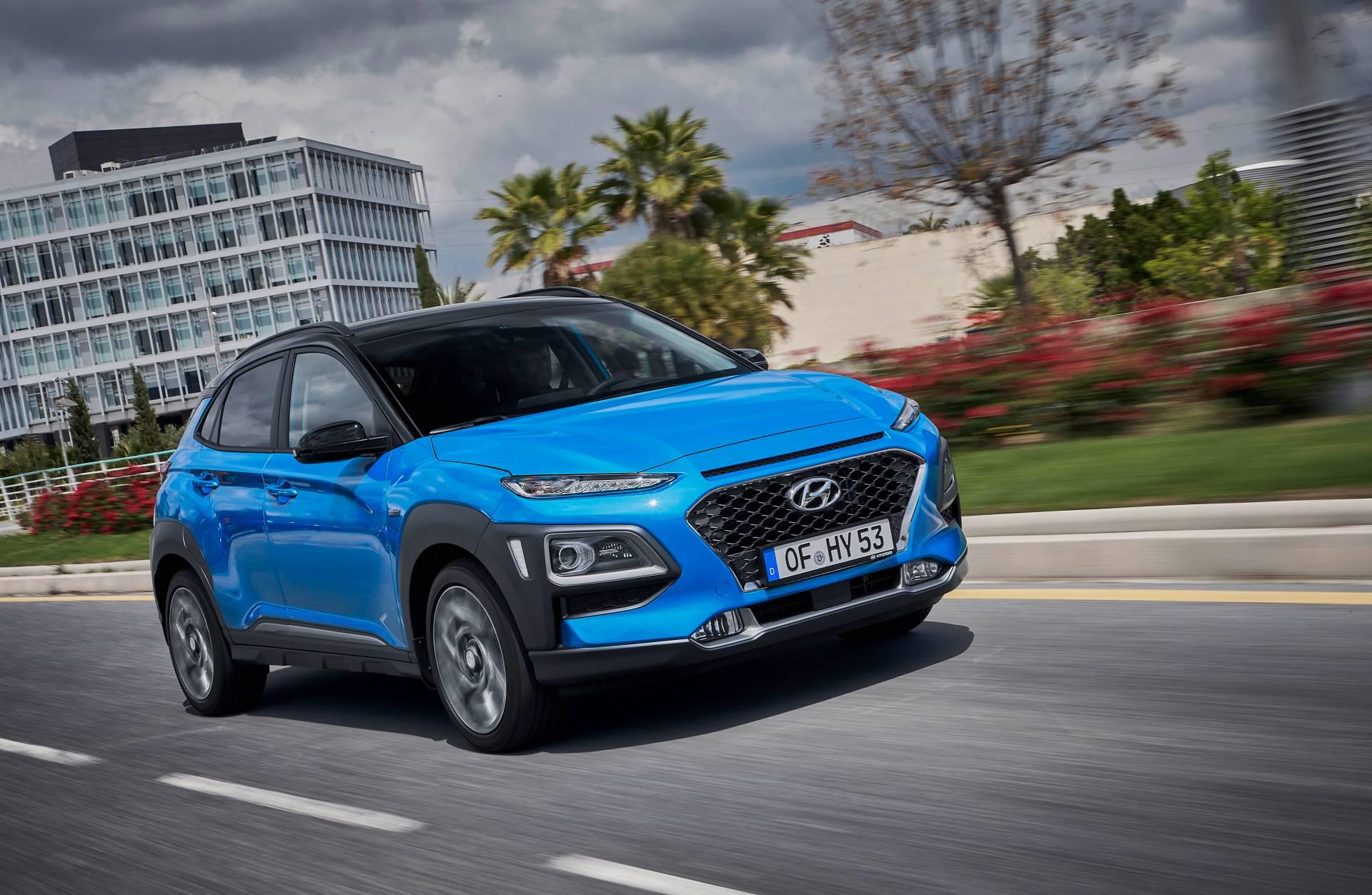 Hyundai lộ diện Kona phiên bản Hybrid tại thị trường Châu Âu - 03